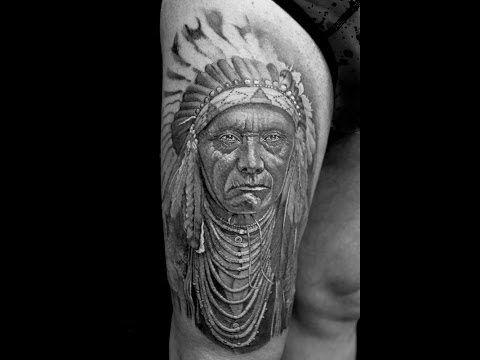 Индейские татуировки: значение, фото, эскизы