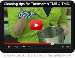Recipe index for Thermomix