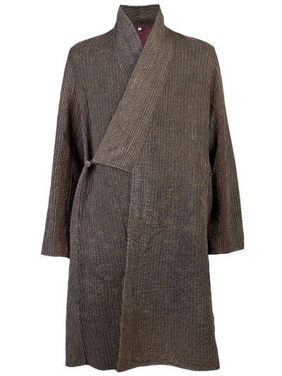 ATELIER OM - Kantha reversible overcoat