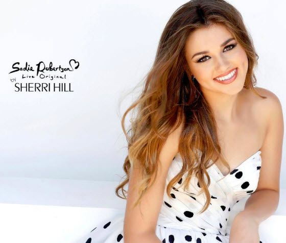 Duck Dynasty's Sadie Robertson to launch prom dress collection with Sherri Hill