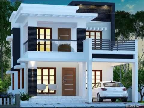 4 Cent Plot 3 Bedrooms Modern House Plan 1779 Sqft 3 Bedroom Home Plan Dreamform Youtube In 2020 2 Storey House Design Kerala House Design Duplex House Design