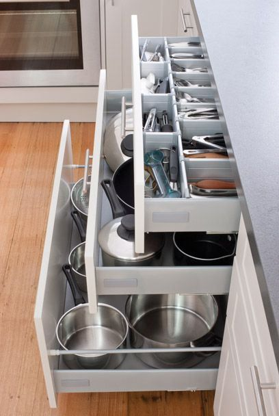 Kadboodle Kitchen - The Ultimate Kitchen Storage, Available at Bunnings #drawers #multipurposedivider #smartsaver