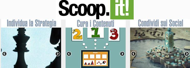 Uno strumento per gestire la tua #contentcuration? Scoop.it ;) #webmarketing