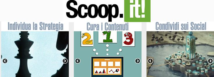 Uno strumento per gestire la tua #contentcuration? Scoop.it ;) #webmarketing