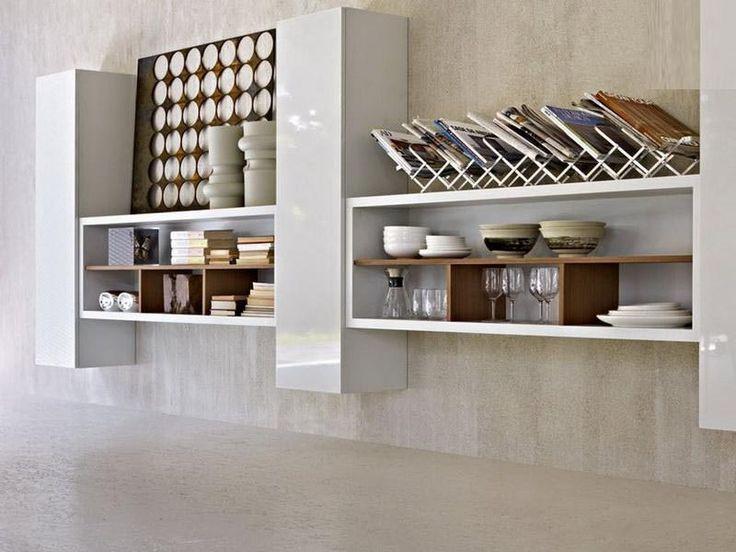 158 best Shelves images on Pinterest White wall shelves Storage