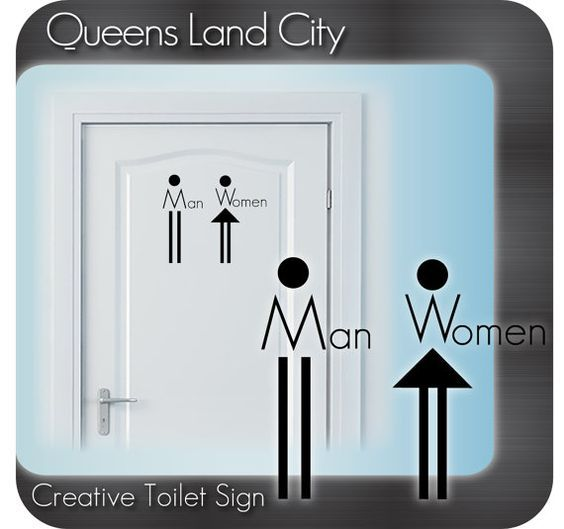 Bathroom Signs For Business 50 best bathroom signgages images on pinterest | toilet signs