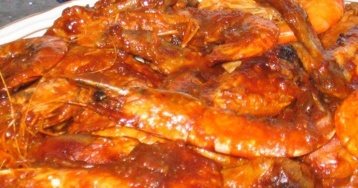 Fabulosa receta para Mar y Montaña.  Plato típico de la Costa Brava, en el que se mezclan el sabor del marisco con el del pollo.