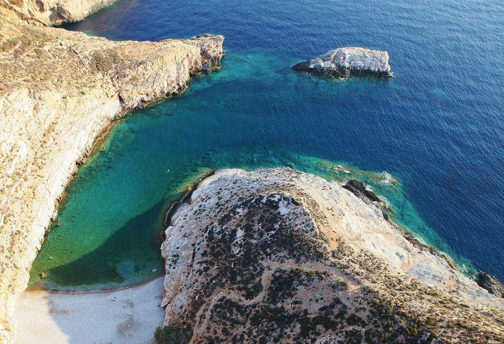 #Folegandros #Greece #Blue and #White