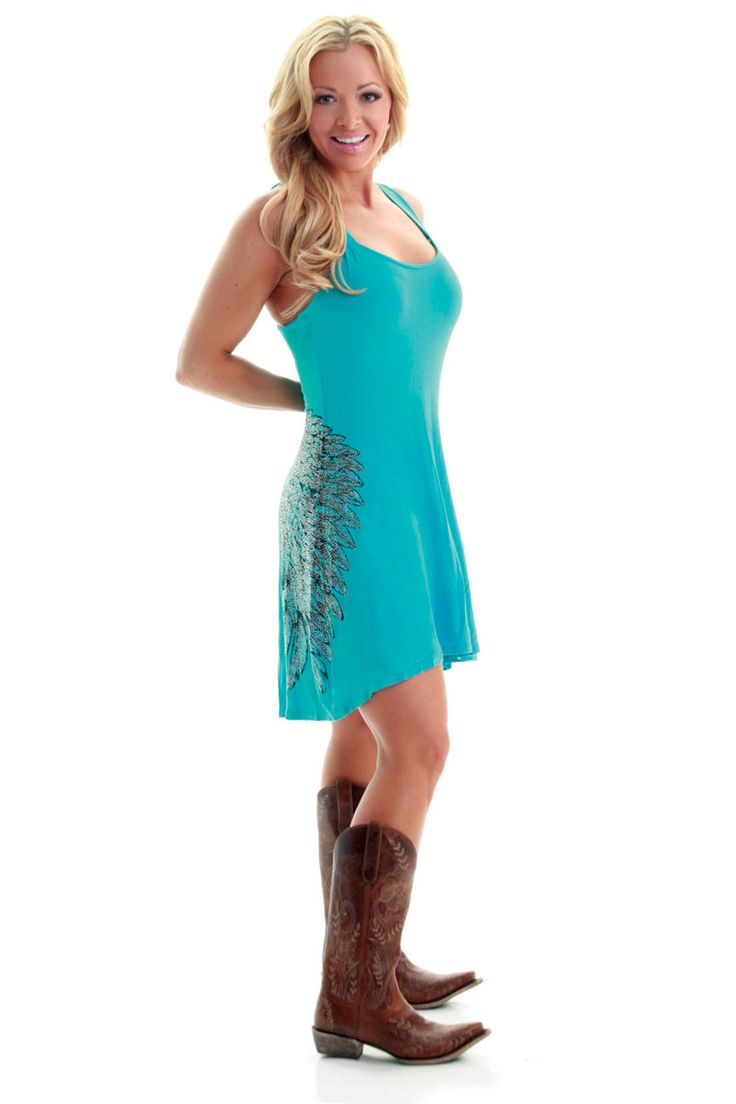 52 best western wear images on pinterest country girls western cowgirl clothing cowgirl tuff crystal wing turquoise womens dress monstermarketplace ombrellifo Images
