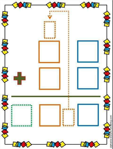 Technique opératoire de l'addition (avec retenue) - Les alphas de LaCatalane