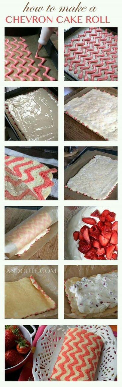 Immagine di cake, food, and strawberry