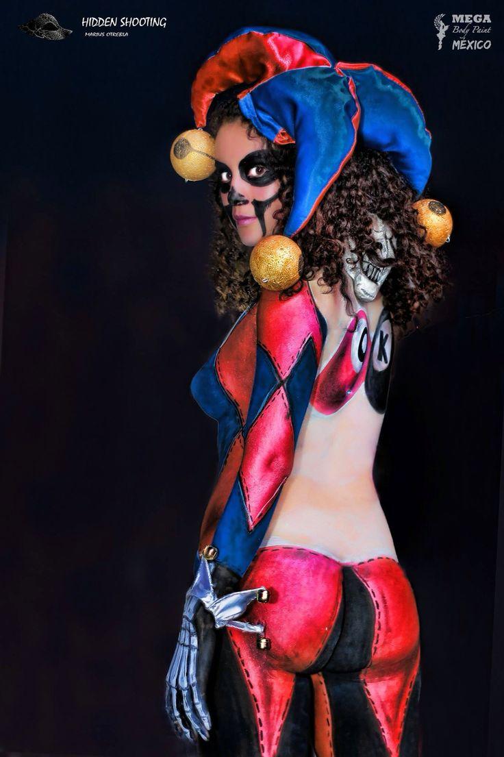 Cuca By MEGA Body Paint México para #SomosRockFST