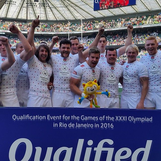 England Sevens have qualified on behalf of @TeamGB for @rio2016! #london7s