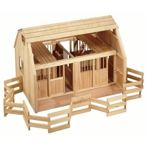 Wooden Toy Stable Building Plans