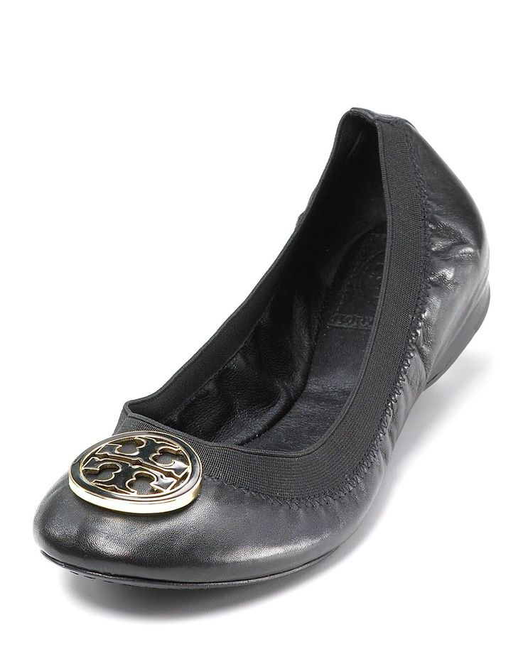 Newest addition to my shoe wardrobe - Tory Burch Flats - Caroline Ballet