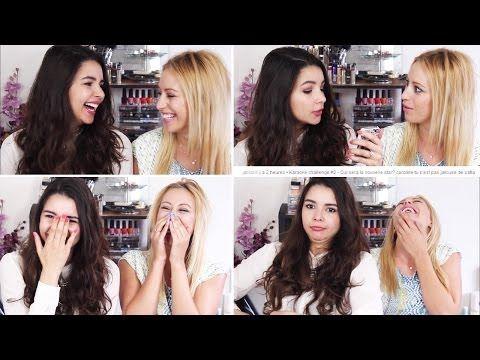 Caroline et Sofia Youtubeuses ! ♡♡♡