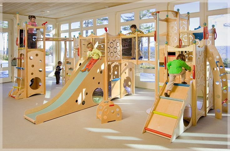 The ultimate #playroom- an indoor playground!