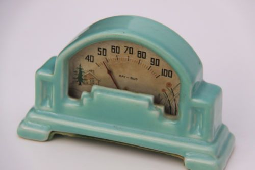 Antique Vintage Kitchen Thermometer
