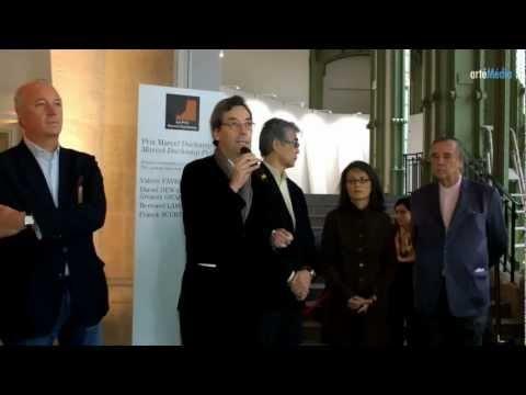 Daniel Dewar et Grégory Gicquel, Prix Marcel Duchamp 2012