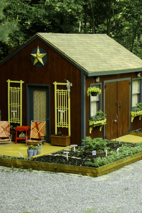 10 Easy Garden Shed transformation designs for your backyard project - Potting Shed Designs