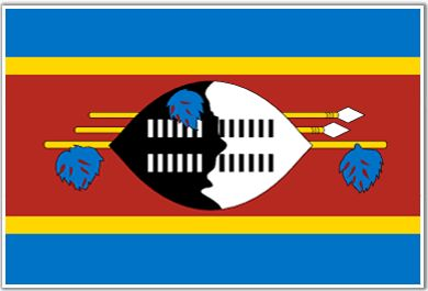 The flag of Swaziland in Africa.  Check out more cool flags at http://www.uskidsmags.com/blog/2013/04/15/jack-and-jill-article-flags/