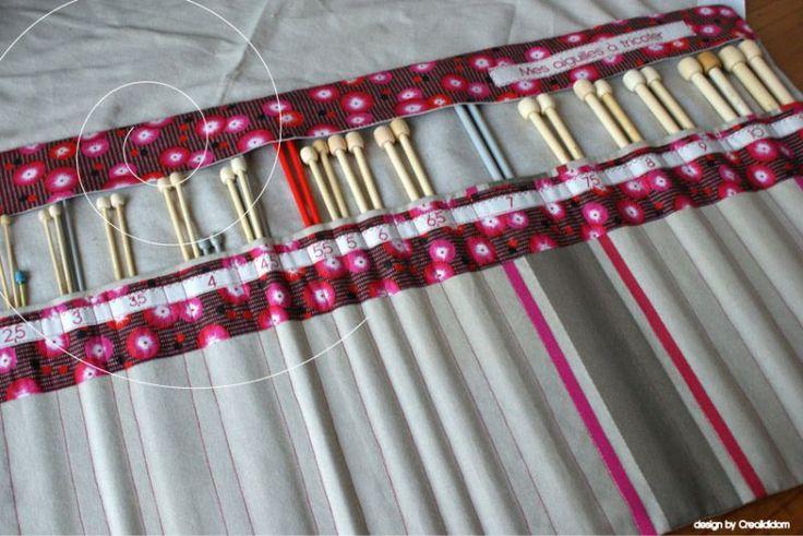 trousse aiguilles a tricoter mes pr 233 f 233 rences tissus parfait souvenirs et ranger