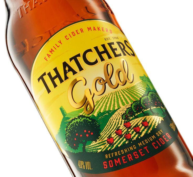Cook Chick Design: Thatchers Cider: Gold
