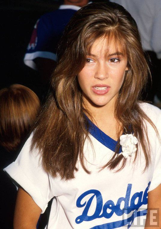 25 best ideas about alyssa milano young on pinterest