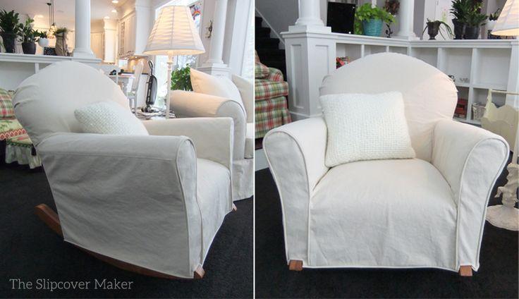 Natural Denim Slipcover Makes Old Sofa New Again