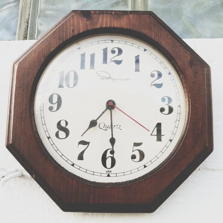 octogan ingraham clock