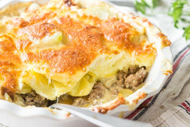 Kartoffel-Hackfleisch-Auflauf mit Kohlrabi