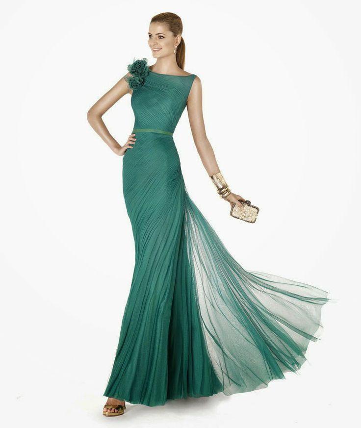 yeşil gece elbiseleri pronovias 2015 gece elbiseleri #pronovias, #pronovias2015, #abiye, #gecekiyafeti, #geceelbiseleri, #mezuniyetelbiseleri