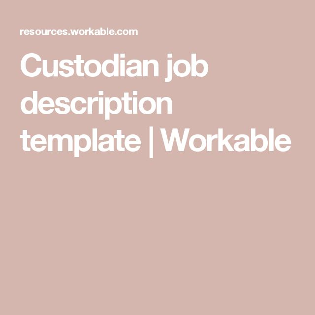 178 best CLEANING BUSINESS images on Pinterest Cleaning business - custodian job description