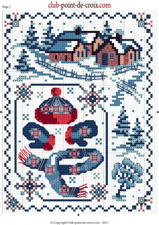 1000+ images about Point de Croix Noel on Pinterest ...