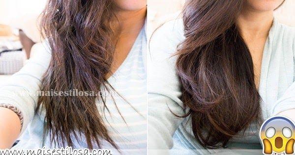 Saiba como fazer shampoo caseiro para engrossar e crescer cabelos finos e ralos.