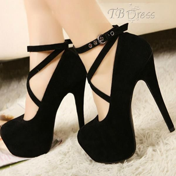 CrossStrap Style Fashion Outsole Material Rubber Lining Material PU Stiletto High Heel Heel Shape Spool Heels Heel Type Thin Heels Heigh Height 13 CM