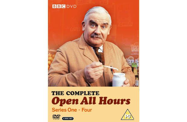 Open All Hours Series 1-4 DVD Boxset: All 25 episodes of the BBC comedy written by Roy Clarke. Miserly… #GolfShopping #GolfSupplies #Golfers