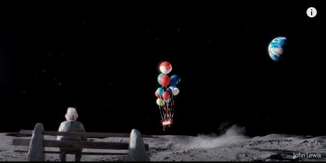 孤独な老人と少女の心の触れ合いにホロリと泣ける…ジョン・ルイスの2015年XマスCM「Man on The Moon」 | AdGang