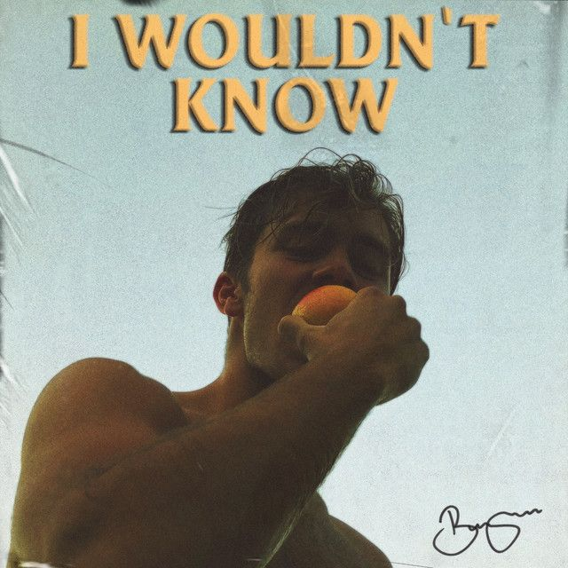 I Wouldn T Know By Benjamin Ingrosso Was Added To My New Music Friday Playlist On Spotify Benjamin Ingrosso Music Poster Benjamin
