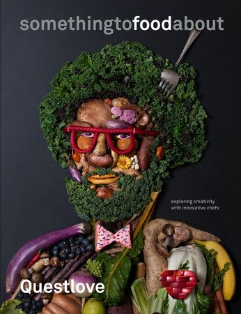 Something to Food About, by Questlove and Ben Greenman. Questlove is a drummer, producer, musical director, culinary entrepreneur, and New York Times best-selling author. What unites all of his work is a profound interest in creativity. In somethingtofoodabout, Questlove applies his boundless curiosity to the world of food.