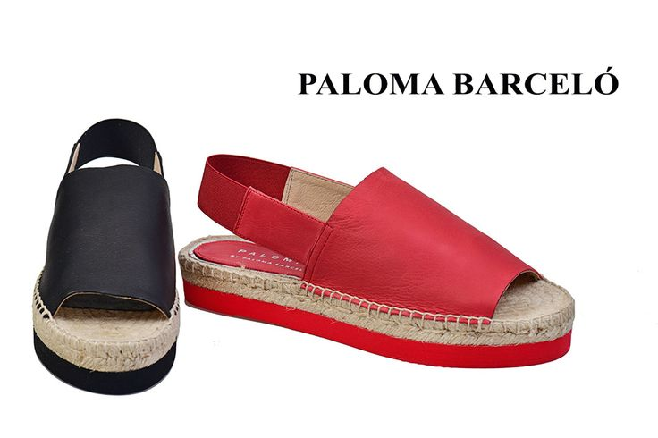 Red and black in the moth chic version ever!! Join the Paloma Barcelo team! Join us in Galleria Di Scarpe!