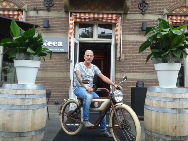 Liefhebber en berijder Meijs Motorman