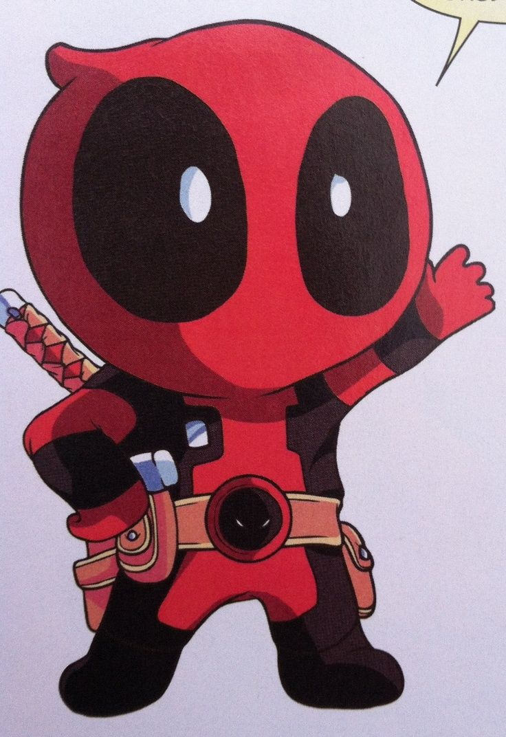 deadpool and spiderman cute - Google Search