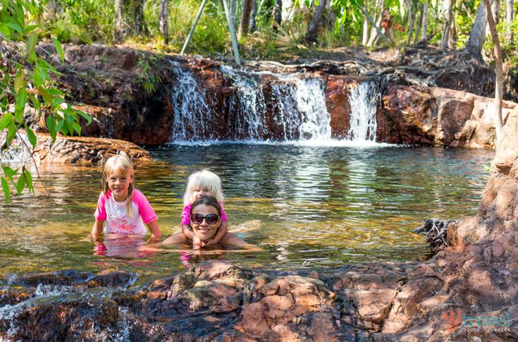Buley Rockholes at Litchfield National Park in the Northern Territory of Australia