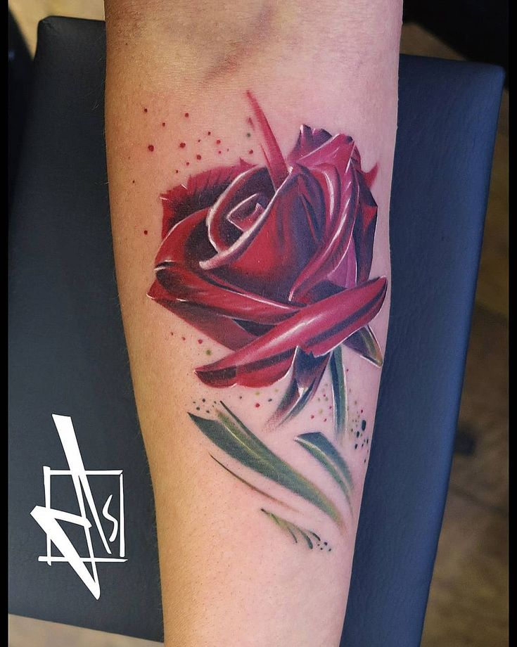 Rose by Kreator DS Tattoo  🌹#rosetattoo #rose #roses