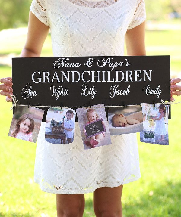 Look at this 'Grandchildren' Personalized Sign on #zulily today!