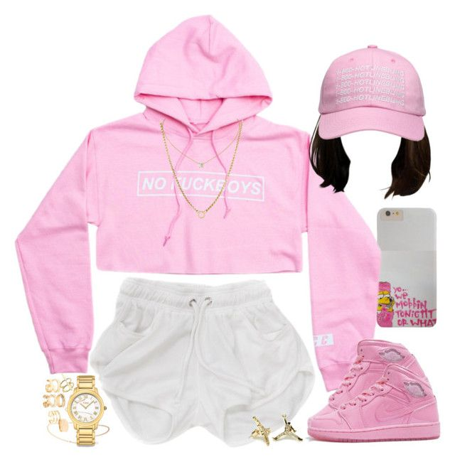 """""""The PinkPrint"""" by oh-aurora ❤ liked on Polyvore featuring ZoÃ« Chicco, October's Very Own, Elizabeth and James, Fendi, David Yurman, women's clothing, women's fashion, women, female and woman"""