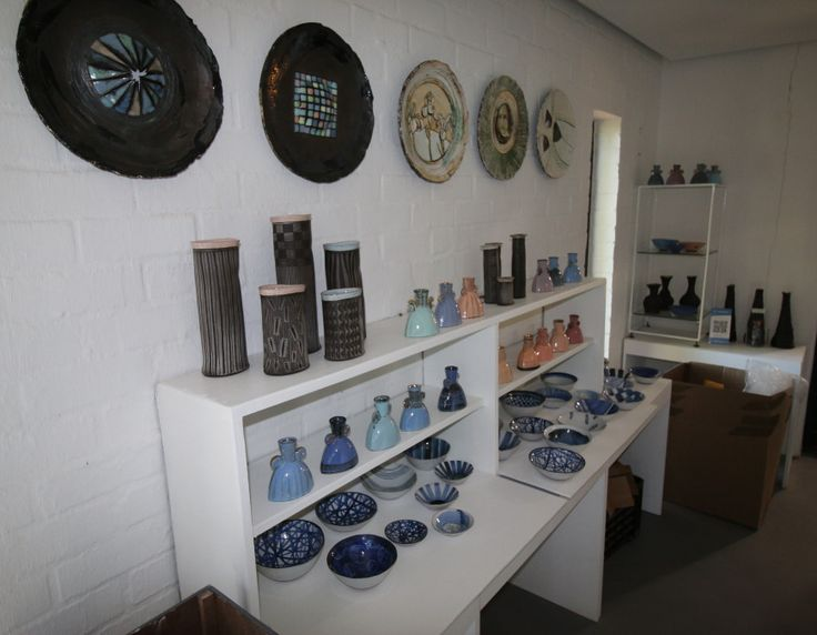 Part of the showroom