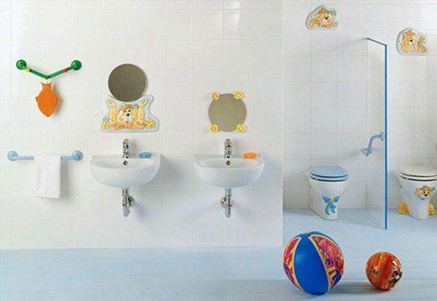 30 Bunte Und Lustige Kinder Badezimmer Ideen Kinder Badezimmer Kind Badezimmer Badezimmer Dekor