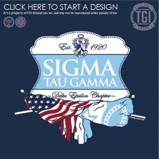 Sigma Tau Gamma Stg Rush Fraternity Recruitment Bid Day Flags Tgi Greek Greek Apparel Custom Apparel Sigma Tau Gamma Tau Gamma Fraternity Tee